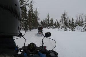 Sneeuwscootertocht