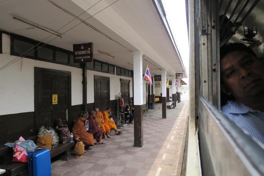 Trein van Bangkok naar Ayutthaya