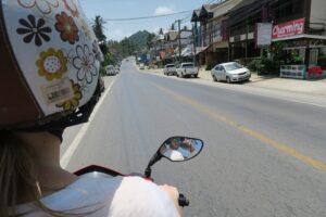Scooter rijden Koh Samui