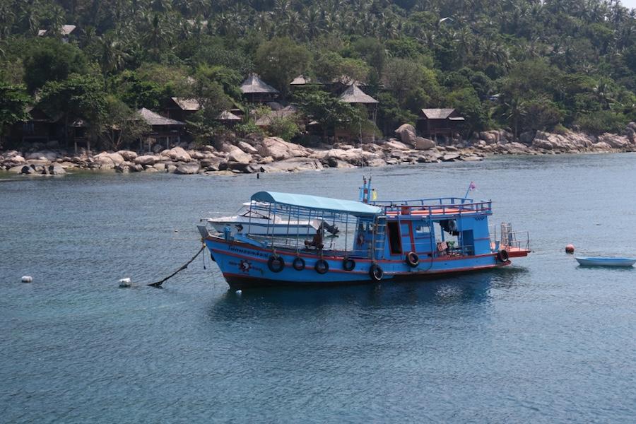 Vissersboot Koh Tao