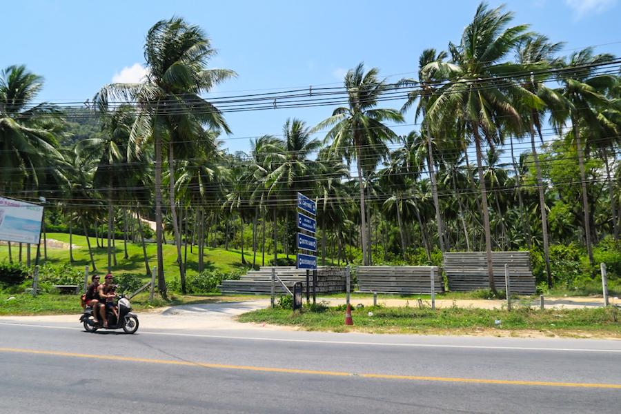 Scooter huren Thailand Koh Samui