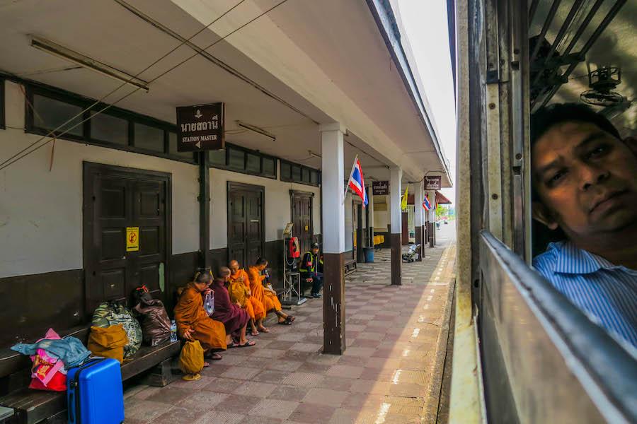Backpack route 2 weken Thailand | Trein Ayutthaya