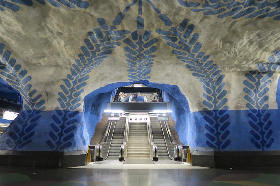 Metrostations Stockholm