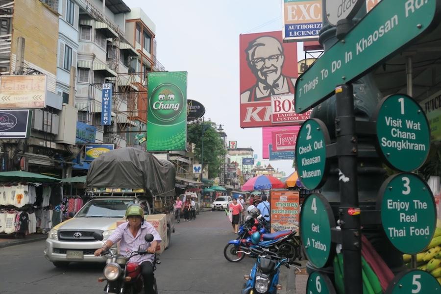 Backpack route Thailand 4 weken