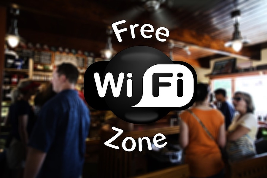 Wifi vliegvelden over de hele wereld