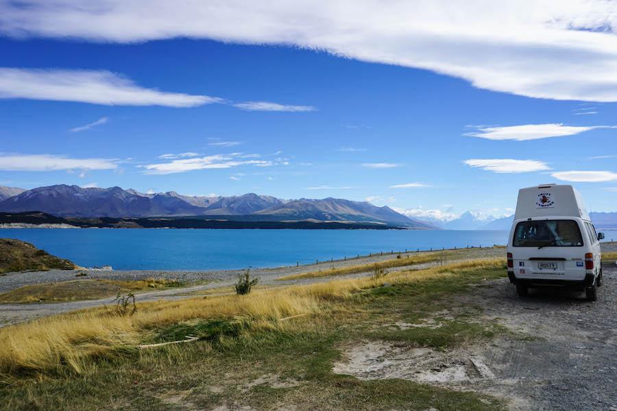 Camping Lake Pukaki
