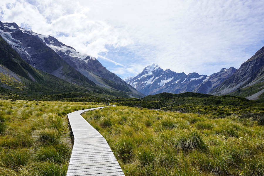 Hooker Valley Track Mount Cook