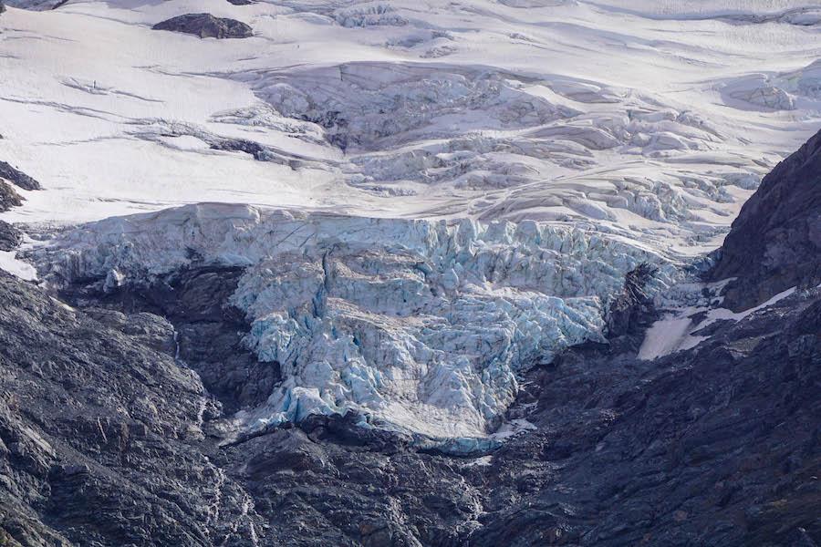 Gletsjer Hooker Valley Track