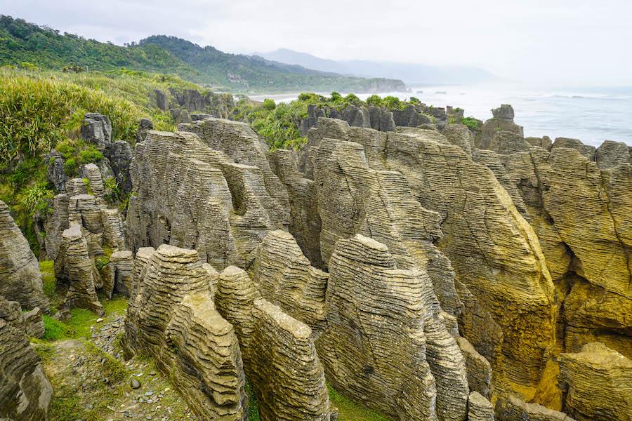 Pancake Rocks Nieuw-Zeeland