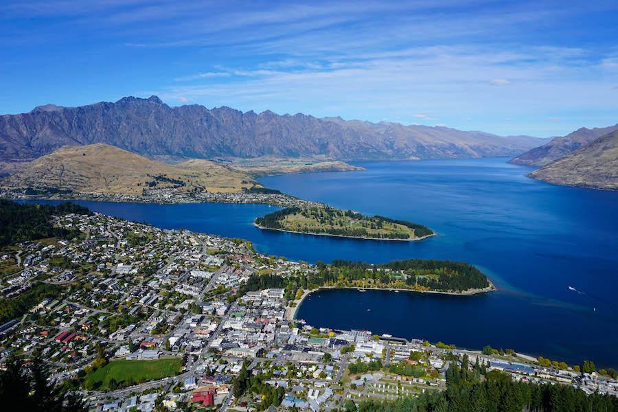 Paragliden Queenstown Nieuw-Zeeland