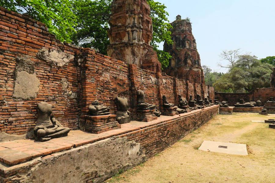 De val van Ayutthaya