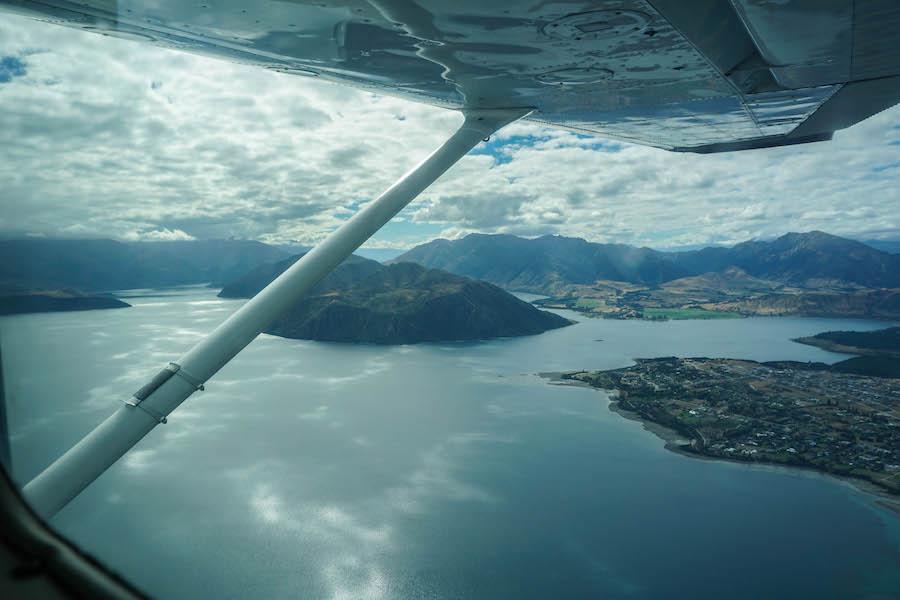Vliegen in Wanaka