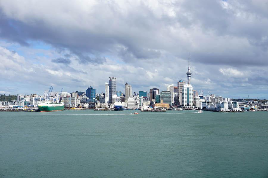 Auckland route noordereiland Nieuw-Zeeland