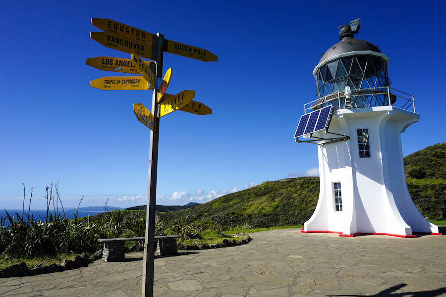 Route noordereiland Nieuw-Zeeland
