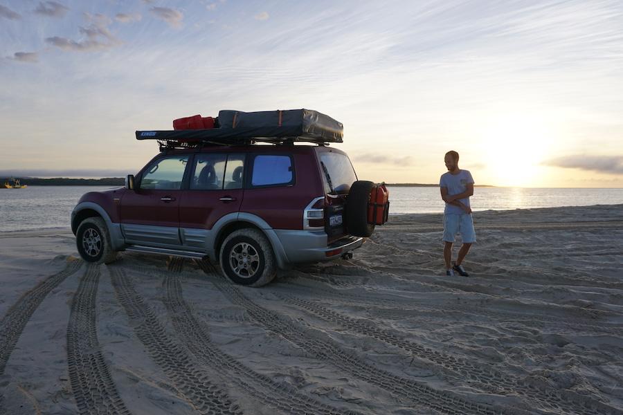 Zelf rijden op Fraser Island