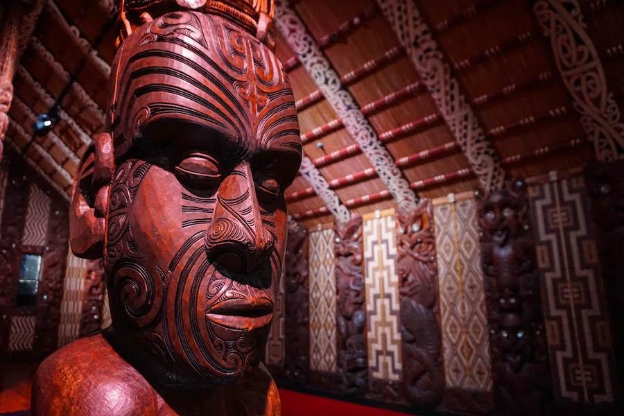 Maori huis Waitangi