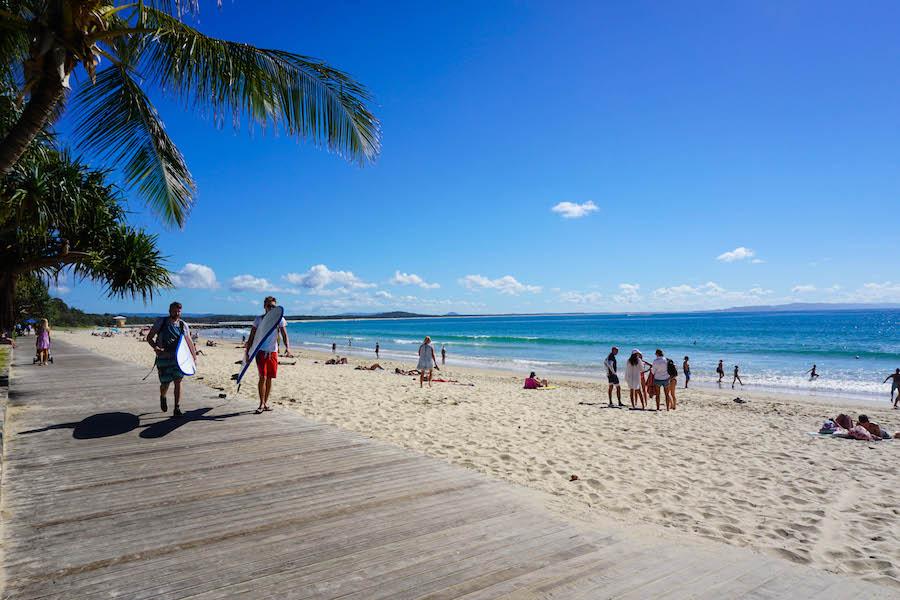 Surfen oostkust Australië