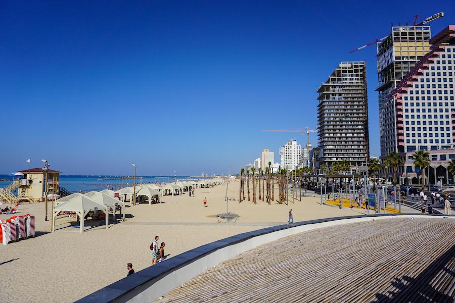Zandstrand Tel Aviv