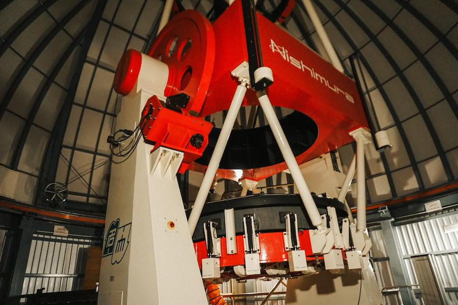 MOA telescoop Nishimura