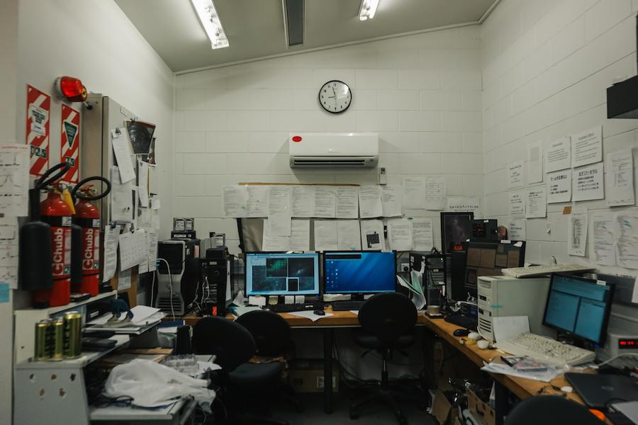 Onderzoekskamer astronoom