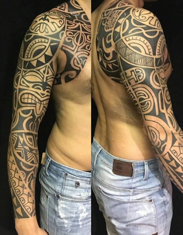 Polynesische tattoo betekenis