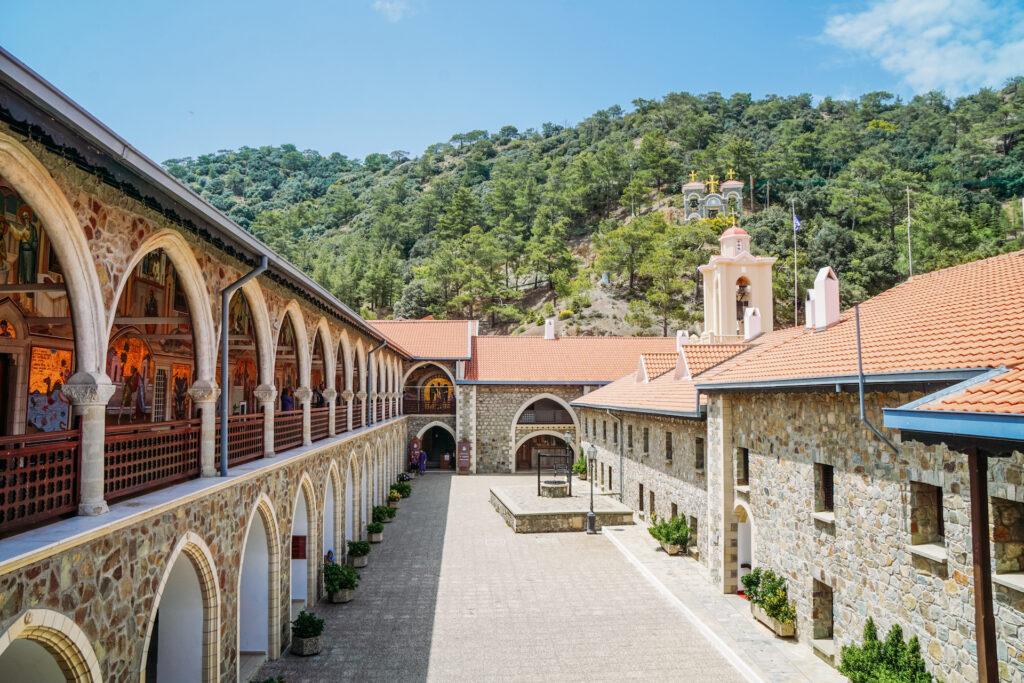 Wat te doen op Cyprus? Kykkos klooster