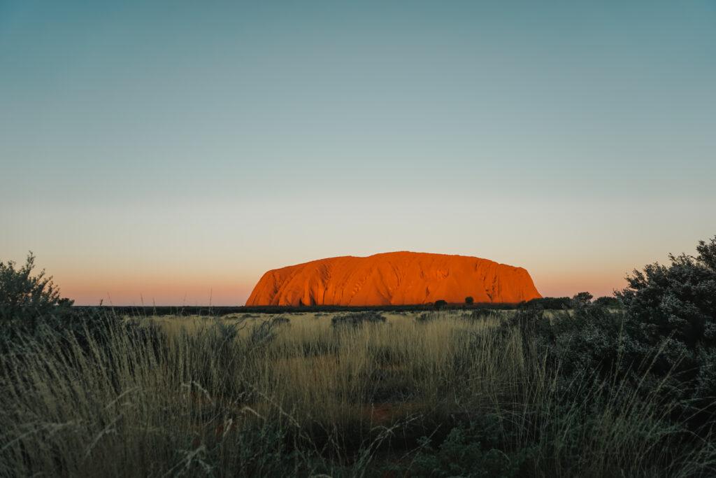 Uluru outback Australië