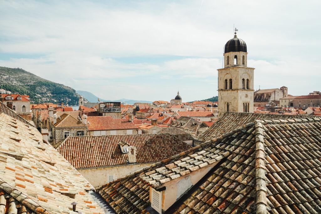 Stadsmuur Dubrovnik Kroatië