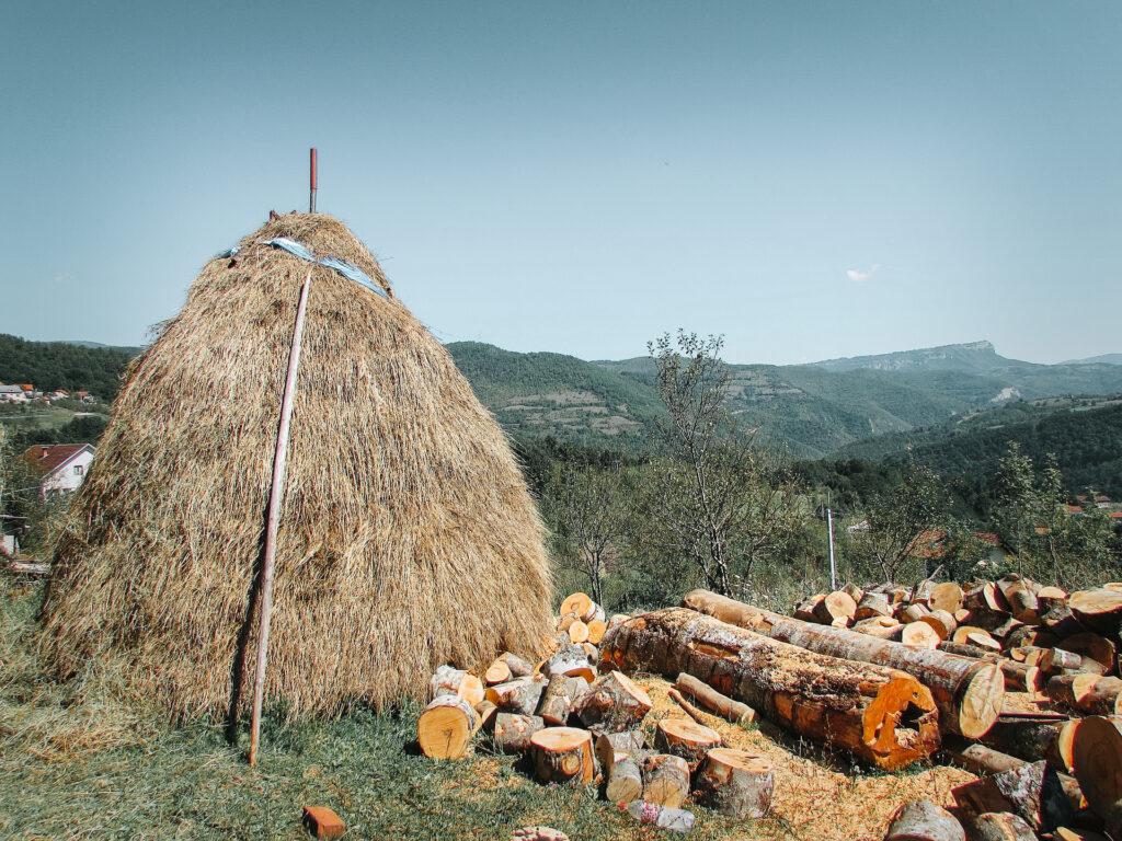 Platteland Bosnië