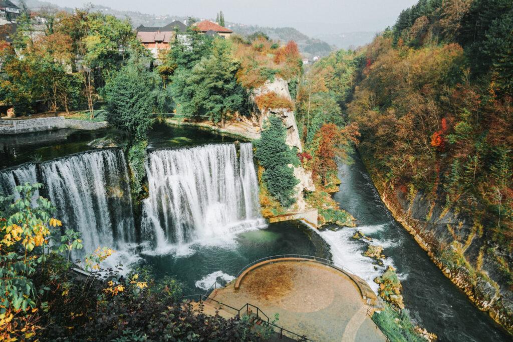 Waterval Jajce Bosnië en Herzegovina