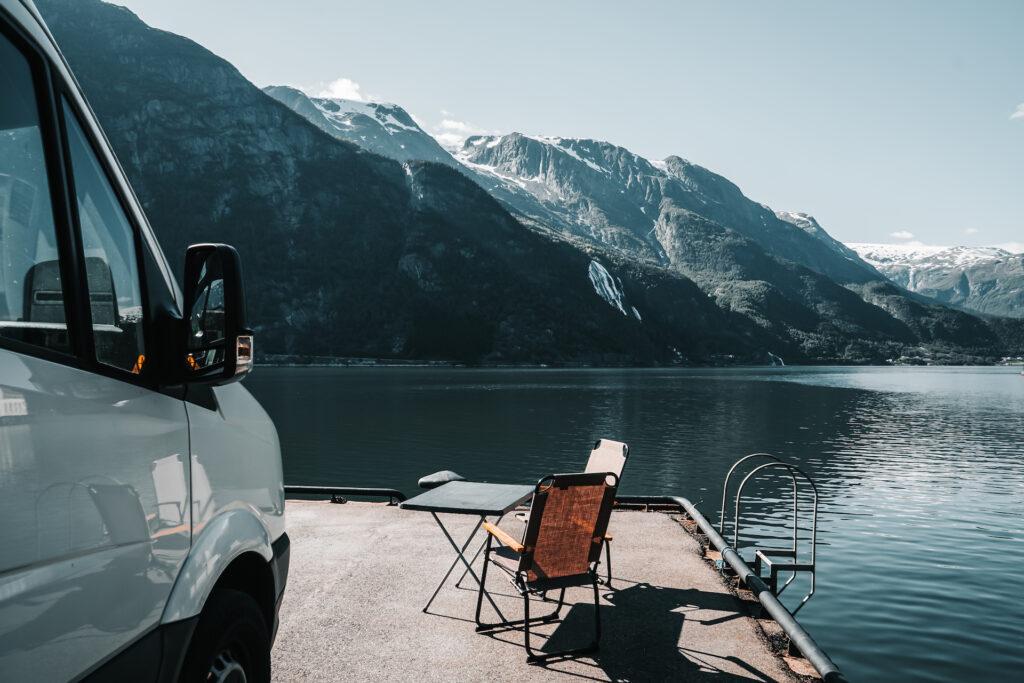 Wildkamperen met een camper
