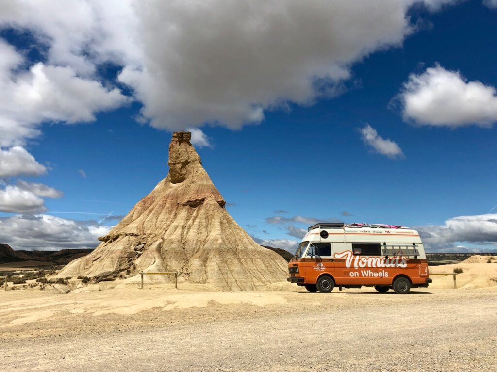 Bus Nomads on Wheels