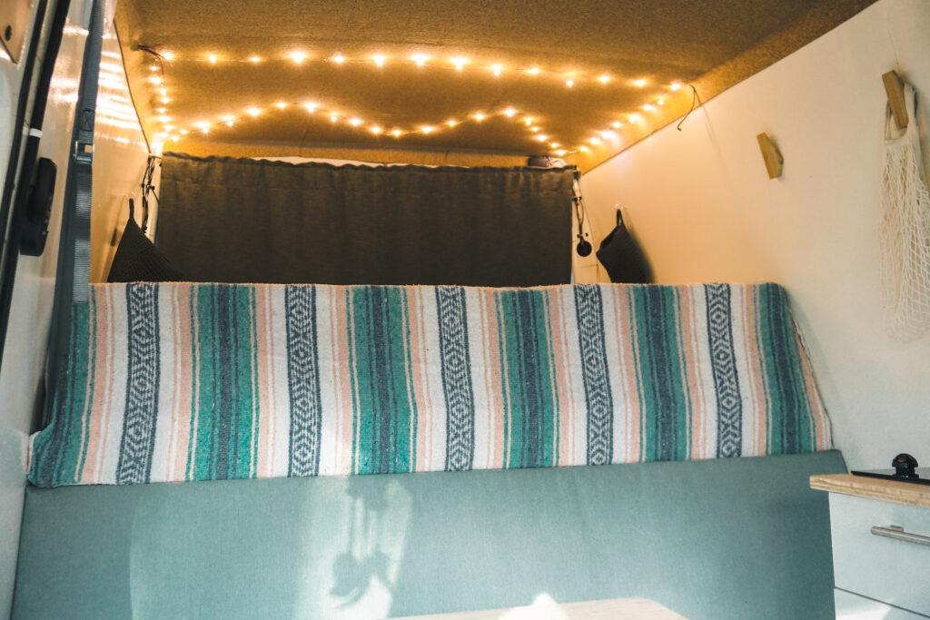 Vast camper bed