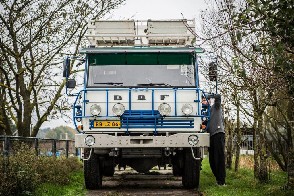 Vanlife truck Bart Thiesen