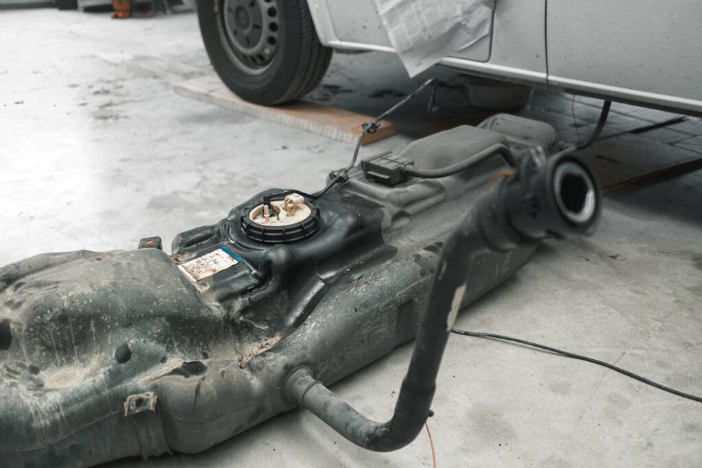 Dieselkachel camper