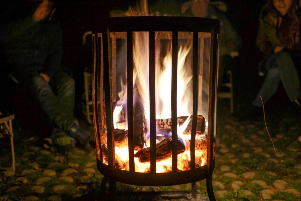 Warm houden tijdens kamperen