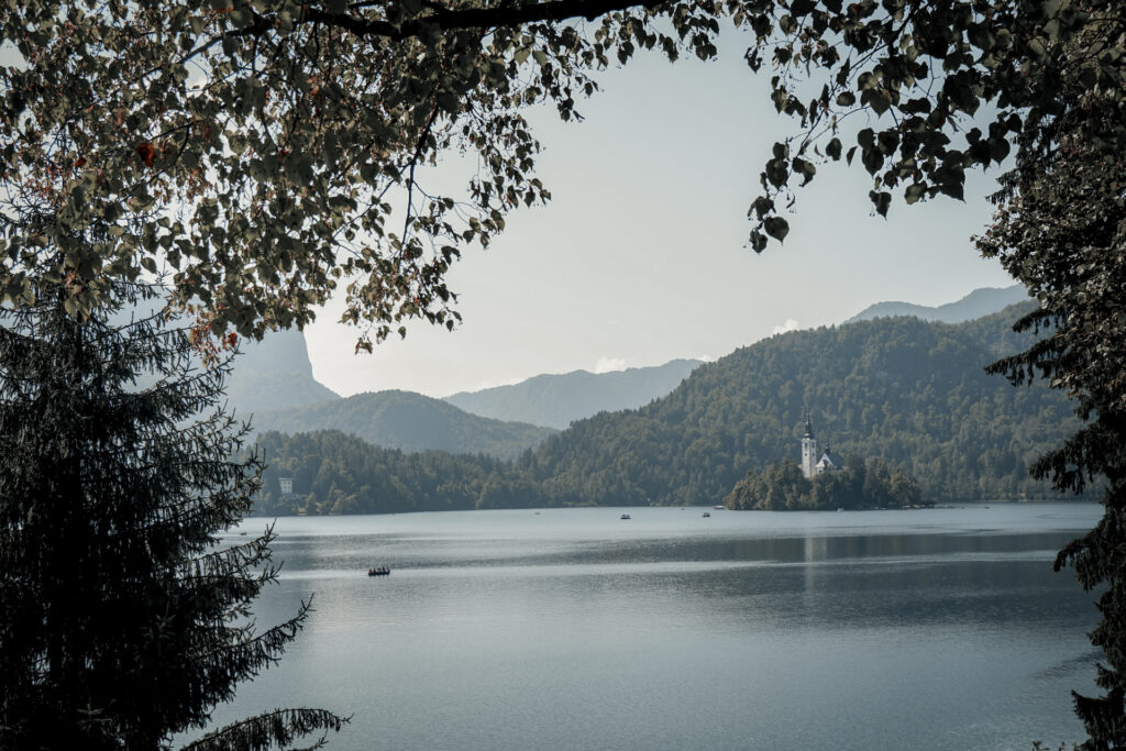 Lake Bled route Slovenië