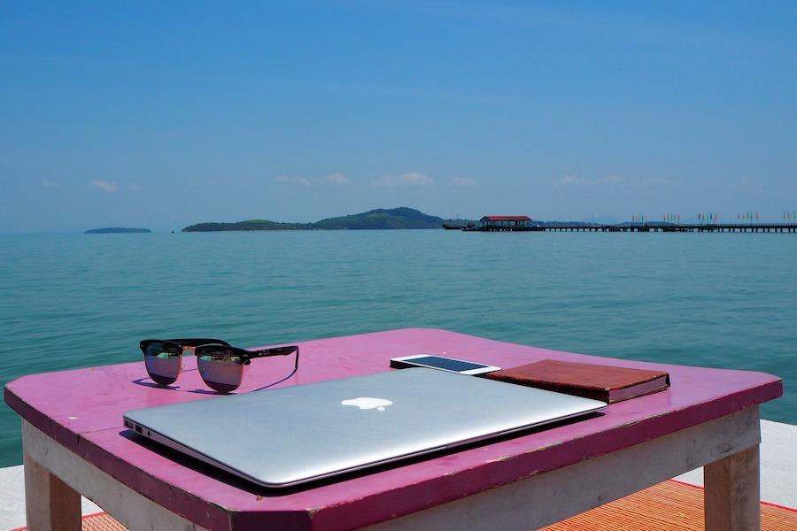 Digital nomad of locatie-onafhankelijk ondernemer