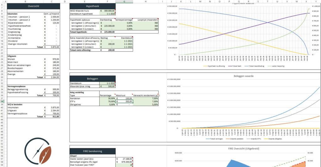 FIRE Excel Sheet